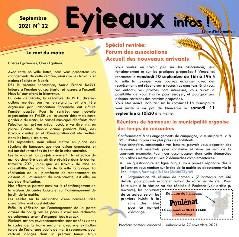 Ejeaux Infos